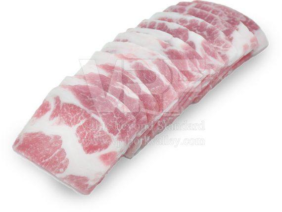 สันคอสไลซ์ เนื้อหมู