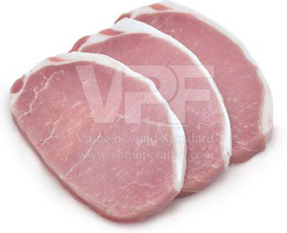 เนื้อหมูสันนอกสเต็ก เนื้อหมู