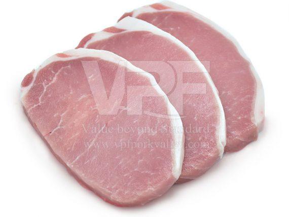 เนื้อหมูสันนอกสเต็ก